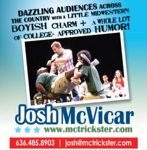 Entertainer - Traveling for a Living - Josh McVicar