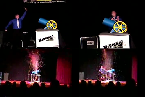 Big Cannon Magic Trick